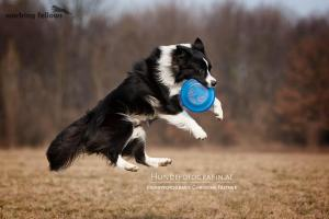 One of his favorite hobbies: Frisbee